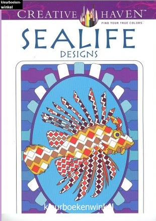 CH 05 sealife designs, kleurboek ter land, ter zee en in de lucht