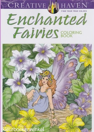 CH 112 enchanted fairies, kleurboek culturen
