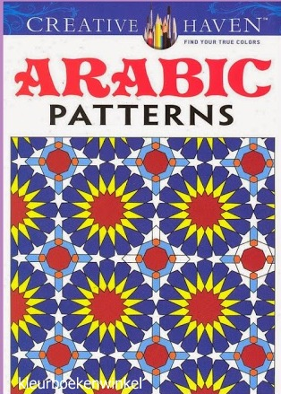 CH 29 arabic patterns, kleurboek culturen