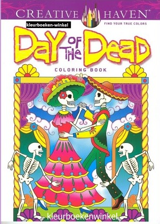CH 47 day of the dead, kleurboek culturen