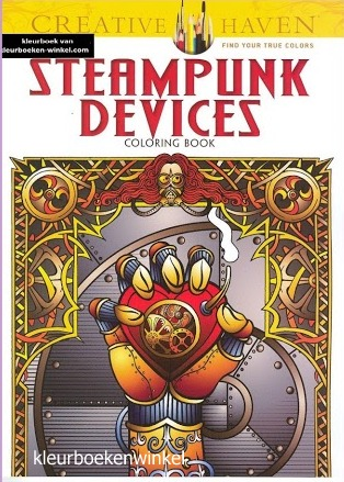 CH 48 steampunk devices, kleurboek culturen