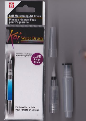 KS 03 water brush penseel