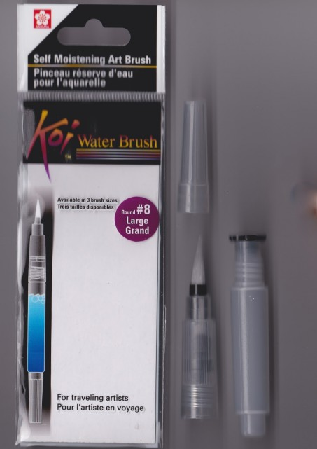 KS 03 water brush penseel blender