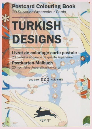PK 05 turkish designs, postkaarten