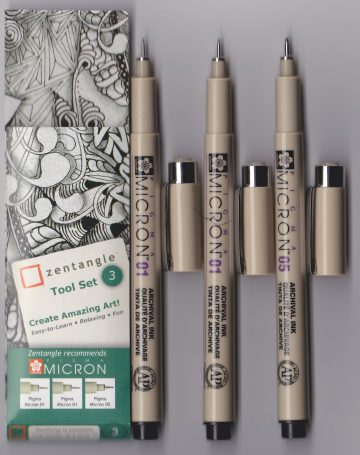 TS 03 Zentangle Tool Set