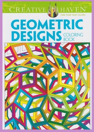 CC 02 geometric designs. Kleurboeken Creative Haven Collection