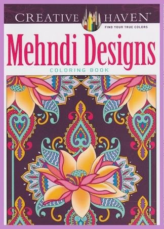 CC 05 mehndi designs. Kleurboeken Creative Haven Collection