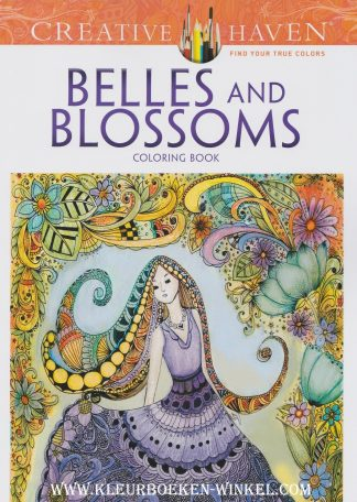 CH 124 belles and blossoms. kleurboek culturen