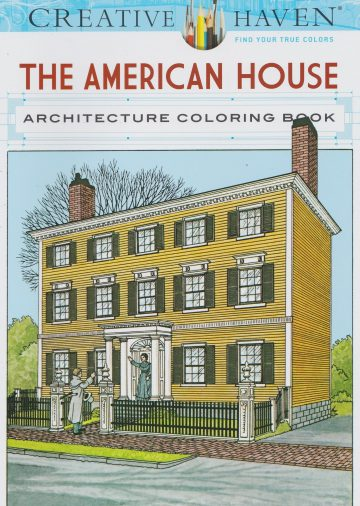 CH 139 the american house. kleurboek ter land, ter zee en in de lucht
