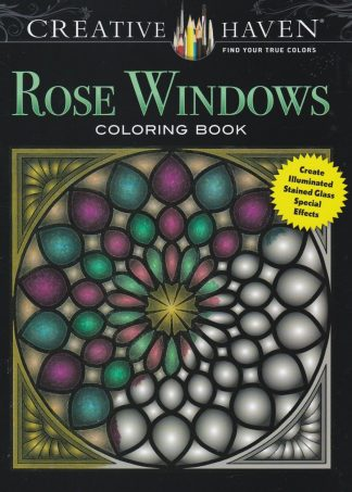 CH 144 kleurboek rose windows