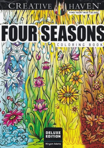 kleurboek four seasons