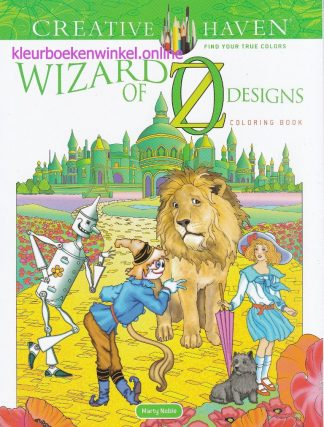 kleurboek wizard of oz designs