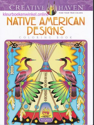 kleurboek native american designs